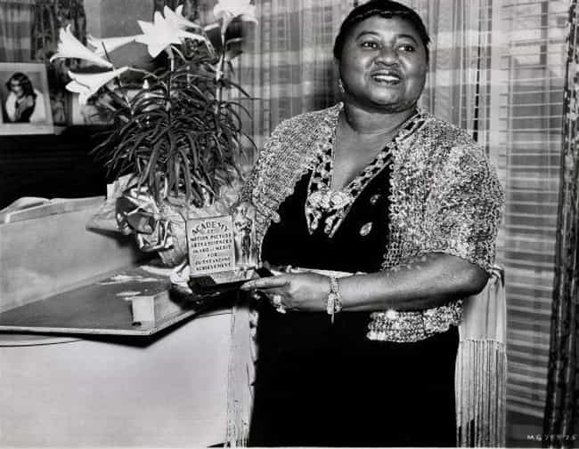 Hattie McDaniel Poses With Her... is listed (or ranked) 1 on the list Photos Of Old Hollywood Stars At The Oscars