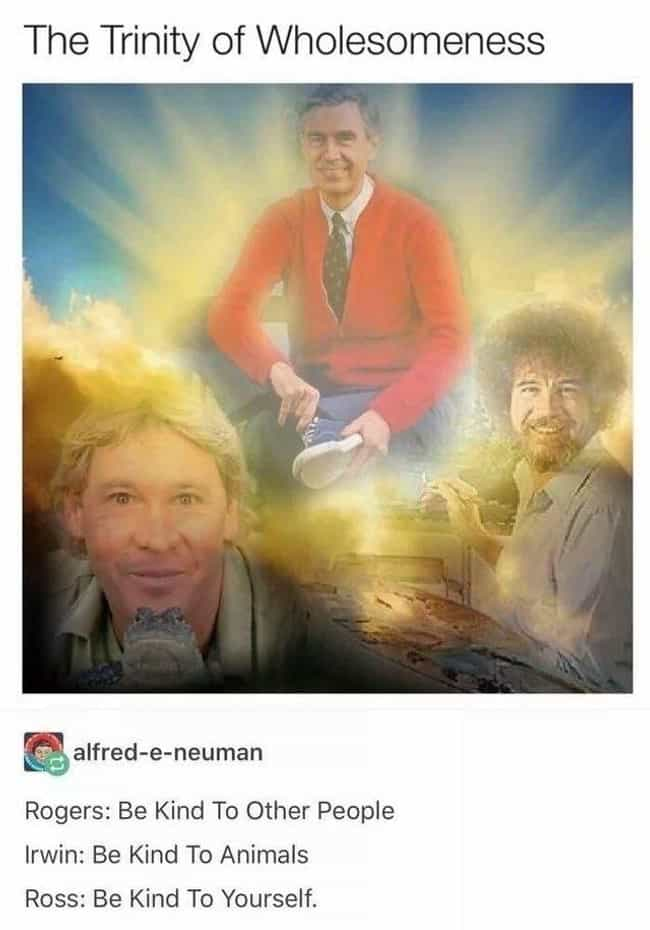 He Was One Of The Greats... is listed (or ranked) 2 on the list Wholesome Steve Irwin Memes That Prove He Was Too Good For This World