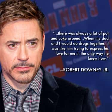 RDJ's History With Substances  is listed (or ranked) 1 on the list Robert Downey Jr. Discusses His Own Darkest Periods