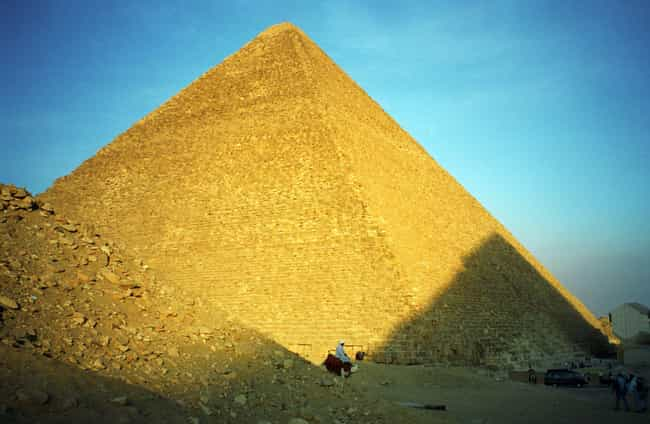 The Ancient Egyptians Intentio... is listed (or ranked) 1 on the list An In-Depth Look AtExactlyHow Ancient Egyptians Transported The Blocks To Build The Pyramids