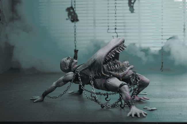 Mongroid is listed (or ranked) 3 on the list The Most Messed Up McFarlane Toys Ever