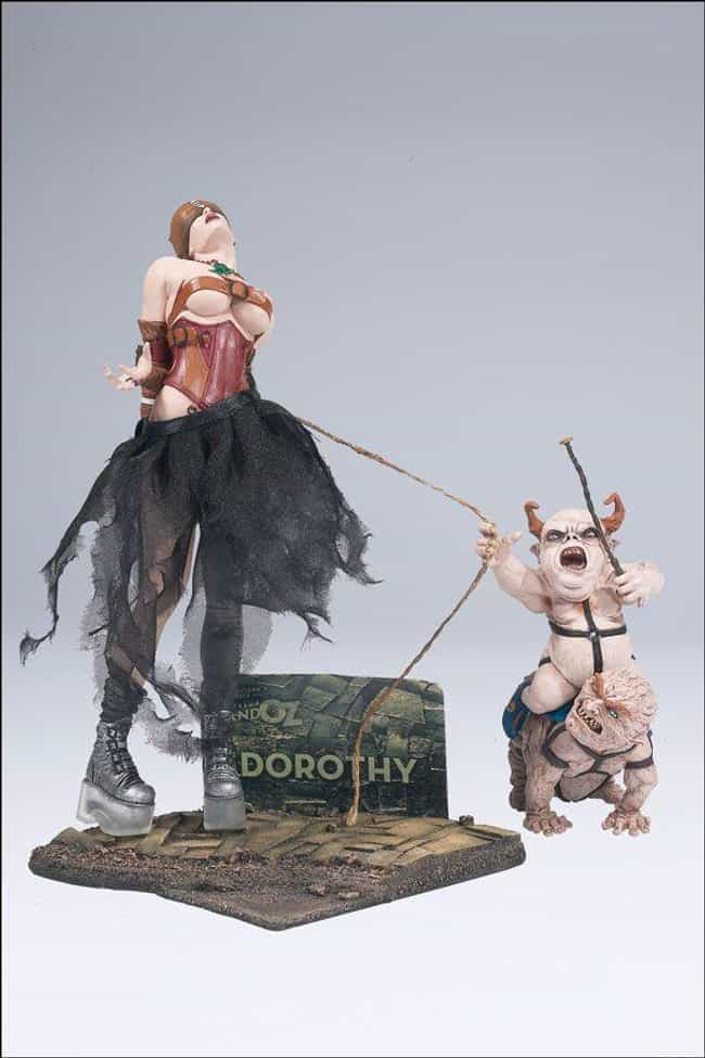 Dorothy is listed (or ranked) 4 on the list The Most Messed Up McFarlane Toys Ever