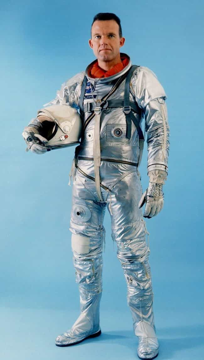 1961-63: Mercury Space Suit, U... is listed (or ranked) 2 on the list The Visual Evolution Of Space Suits