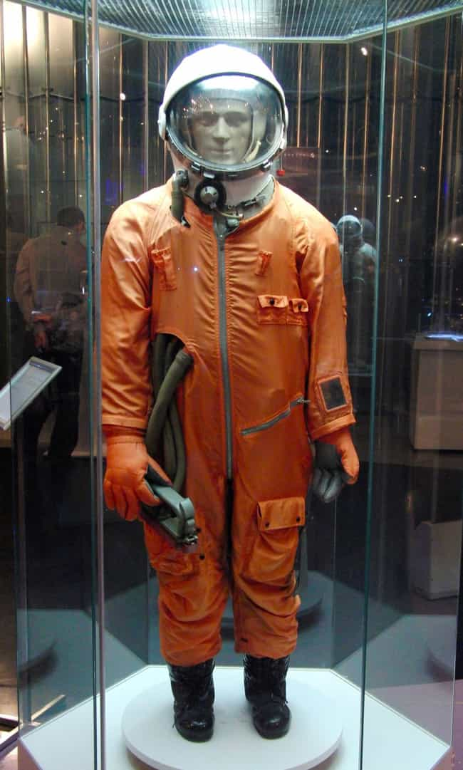 1961-63: SK-1 Space Suit, USSR is listed (or ranked) 3 on the list The Visual Evolution Of Space Suits