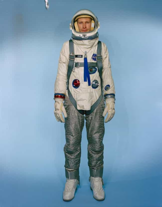 1964: Gemini Space Suit, Unite... is listed (or ranked) 4 on the list The Visual Evolution Of Space Suits