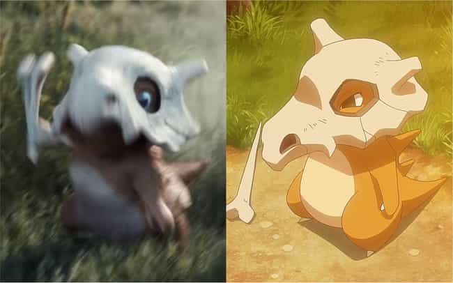 Cubone is listed (or ranked) 1 on the list How The 'Detective Pikachu' Pokémon Compare To Their Anime Counterparts