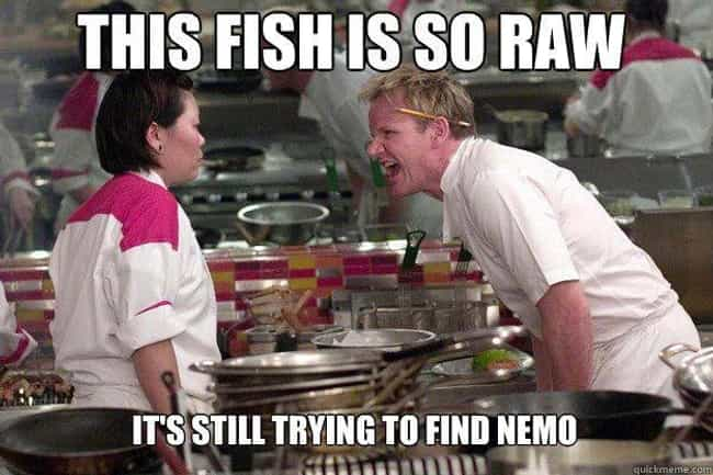 Just Keep Swimming is listed (or ranked) 4 on the list These Gordon Ramsay Memes Will Up Your Insult Game Tenfold