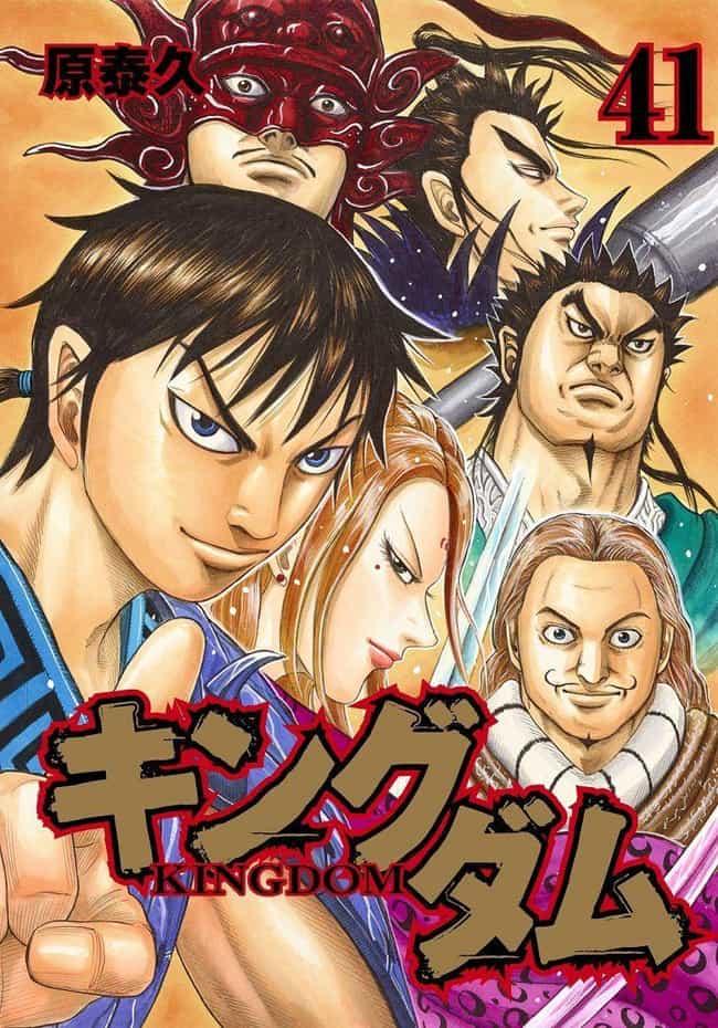 Kingdom is listed (or ranked) 4 on the list The 13 Best Manga Like Vagabond