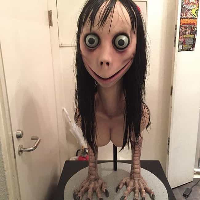 The Momo Challenge is listed (or ranked) 1 on the list Dangerous Games That Kids These Days Play