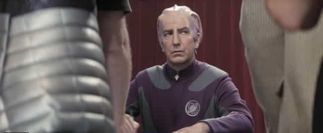 It's One Of Alan Rickman... is listed (or ranked) 4 on the list Why 'Galaxy Quest' Is Pretty Much The Best 'Star Trek' Movie Ever Made