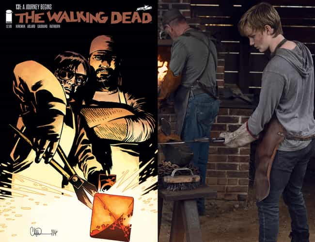 Henry Moved To Hilltop To Lear... is listed (or ranked) 3 on the list How Henry Replaced Carl In 'The Walking Dead' TV Series