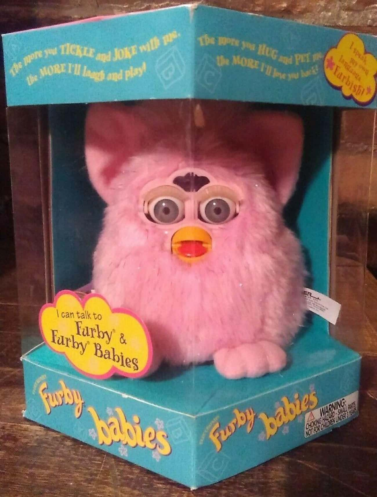 Pink Crystal Furby Baby - $300 is listed (or ranked) 4 on the list Furbies That Are Worth A Ton Of Money Now