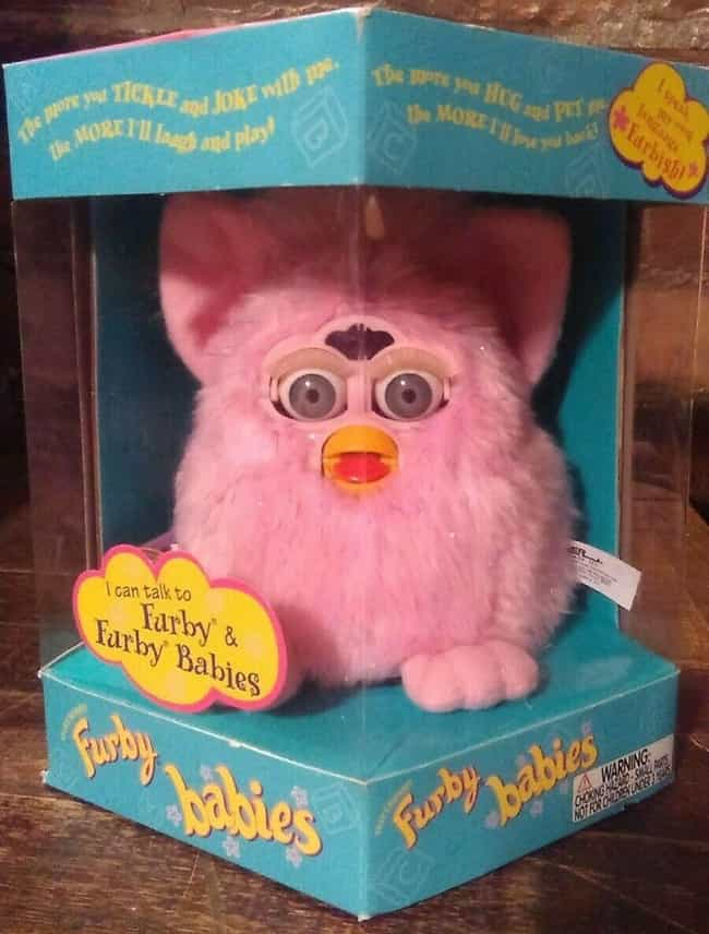 Pink Crystal Furby Baby ... is listed (or ranked) 4 on the list Furbies That Are Worth A Ton Of Money Now