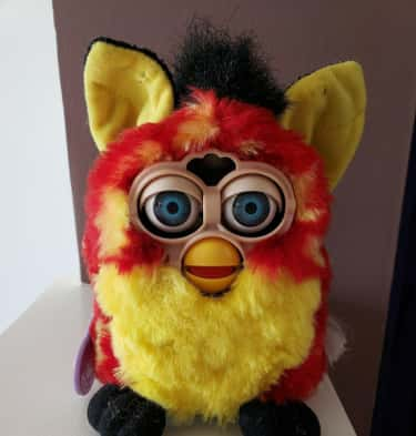 Rusty Dots Furby -  $298 is listed (or ranked) 5 on the list Furbies That Are Worth A Ton Of Money Now