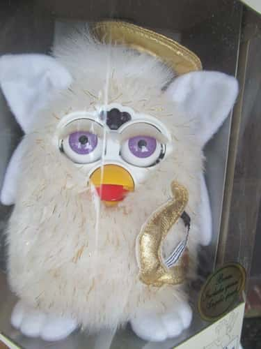 Angel Furby - $229 is listed (or ranked) 6 on the list Furbies That Are Worth A Ton Of Money Now