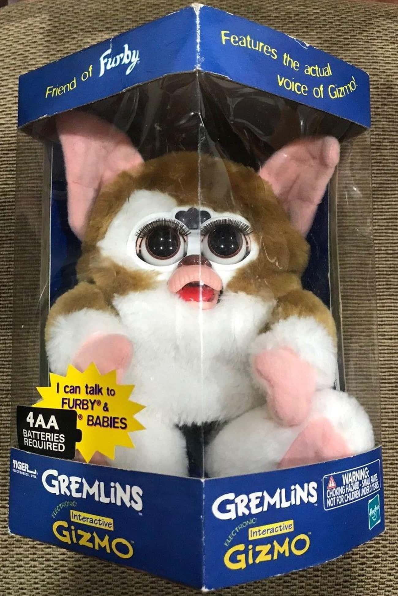 Gremlins Interactive Gizmo Fur is listed (or ranked) 3 on the list Furbies That Are Worth A Ton Of Money Now