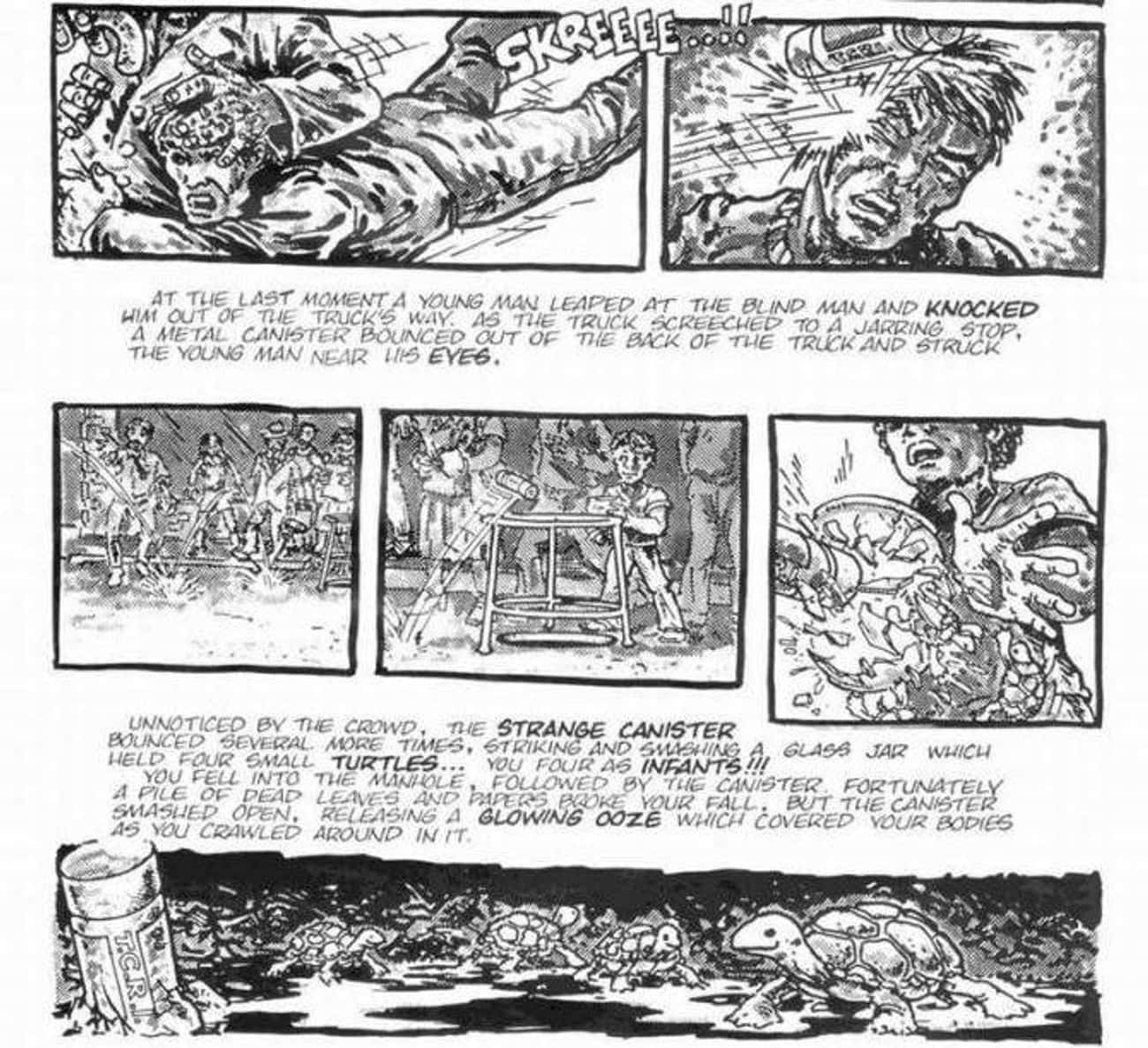 The Radioactive Goop That Blinded Daredevil Also Created The Ninja Turtles