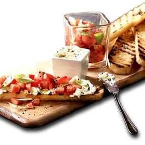 Bruschetta is listed (or ranked) 11 on the list The Best Things To Eat At Macaroni Grill