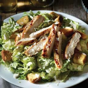Entrée Caesar w/Chicken is listed (or ranked) 8 on the list The Best Things To Eat At Macaroni Grill