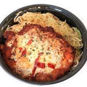Chicken Parmesan is listed (or ranked) 4 on the list The Best Things To Eat At Macaroni Grill