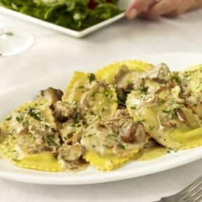 Mushroom Ravioli is listed (or ranked) 16 on the list The Best Things To Eat At Macaroni Grill
