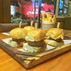 Cheeseburger Sliders is listed (or ranked) 23 on the list The Best Things To Eat At TGI Fridays