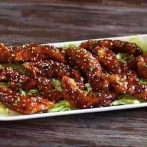 Signature Whiskey-Glazed Chick is listed (or ranked) 5 on the list The Best Things To Eat At TGI Fridays