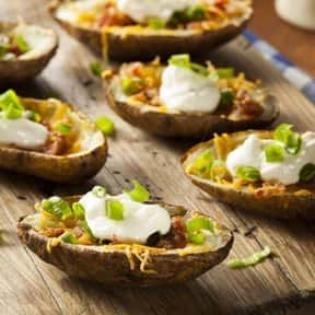 Loaded Potato Skins with Ranch is listed (or ranked) 12 on the list The Best Things To Eat At TGI Fridays