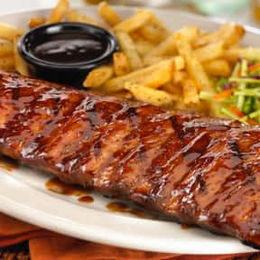 BBQ Ribs, Full-Rack (with cole is listed (or ranked) 20 on the list The Best Things To Eat At TGI Fridays