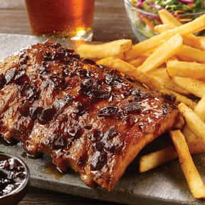 BBQ Ribs, Half-Rack (with cole is listed (or ranked) 25 on the list The Best Things To Eat At TGI Fridays