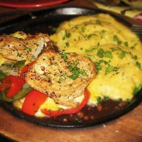 Sizzling Chicken & Cheese is listed (or ranked) 24 on the list The Best Things To Eat At TGI Fridays