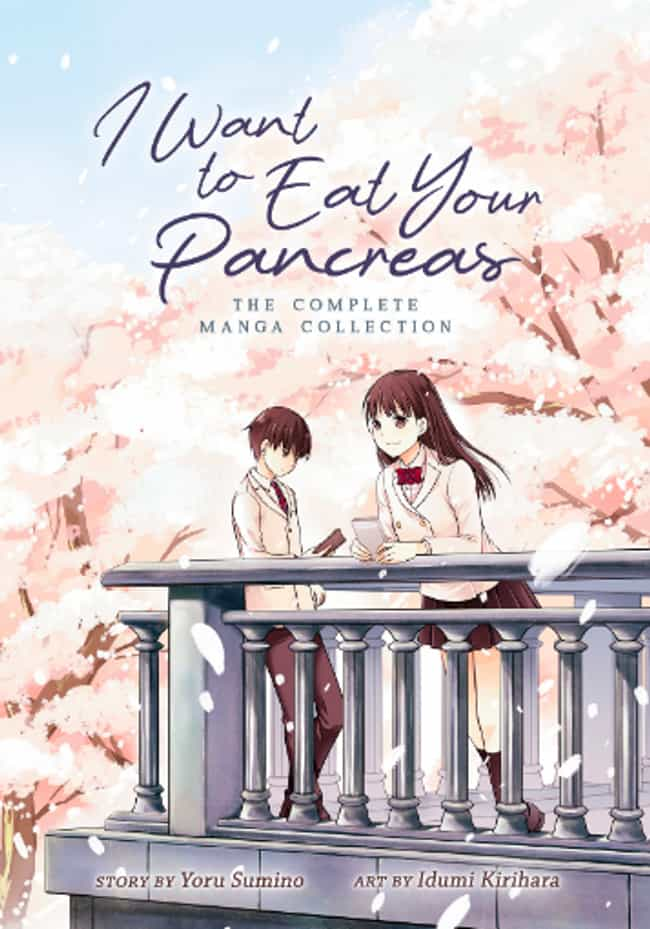 I Want To Eat Your Pancreas is listed (or ranked) 4 on the list The Best New Manga You Should Be Reading in 2019