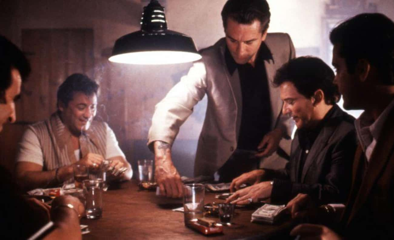 Real Gangsters Appear In The F is listed (or ranked) 2 on the list 15 Behind-The-Scenes Stories From The Making Of 'Goodfellas'