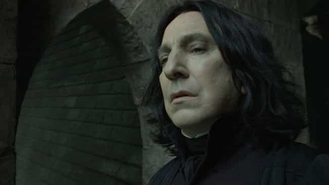His Method Acting Intimi... is listed (or ranked) 4 on the list Stories About Alan Rickman From Behind The Scenes Of 'Harry Potter'