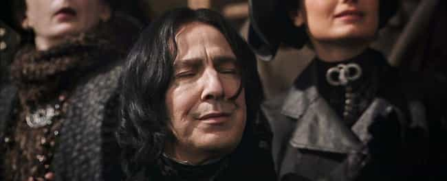 He Played A Fart Joke On Danie... is listed (or ranked) 4 on the list Stories About Alan Rickman From Behind The Scenes Of 'Harry Potter'