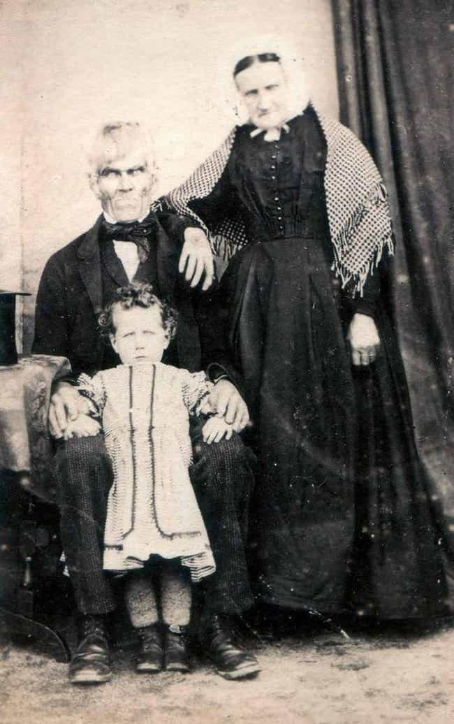 A Family Photo, Late 180... is listed (or ranked) 3 on the list The Creepiest Photos From History