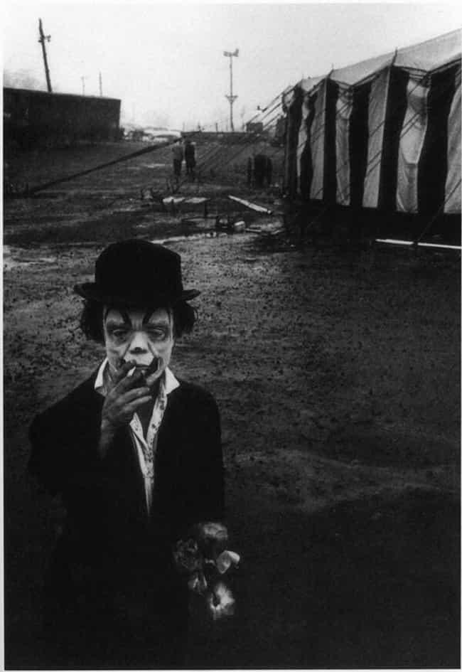 A Clown On His Break, 1958
