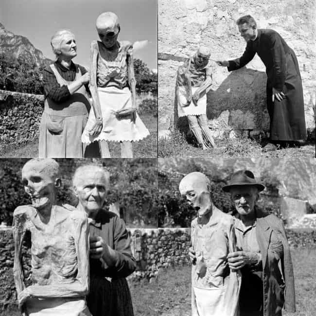 People With The Mummies Of Ven... is listed (or ranked) 4 on the list The Creepiest Photos From History