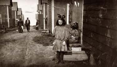 A Nine-Year-Old Girl Working, Unknown Year