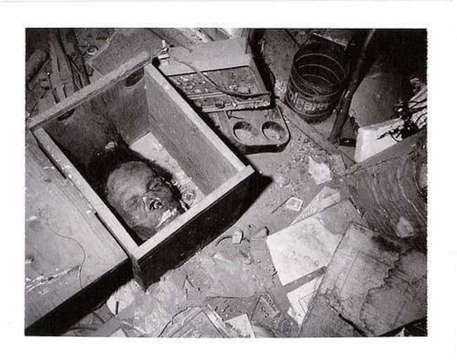 One Of Ed Gein's Human Flesh M... is listed (or ranked) 2 on the list The Creepiest Photos From History
