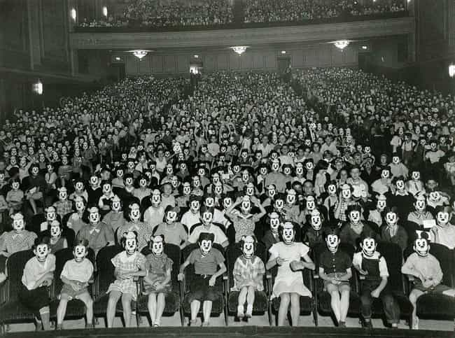 A Micky Mouse Club Meeting, 1930s