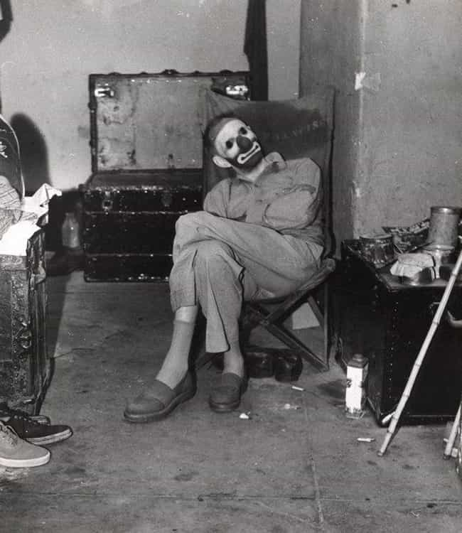 A Clown In His Dressing Room, Unknown Year