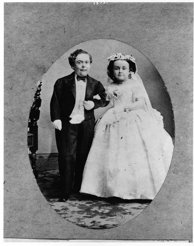 P.T. Barnum Circus Performer G... is listed (or ranked) 3 on the list Photos Of Adorable 19th-Century Couples