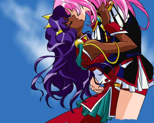 Anthy Himemiya & Utena Tenjou ... is listed (or ranked) 4 on the list The 12 Best Yuri Anime Couples of All Time