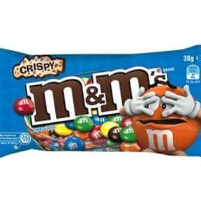 Crispy M&Ms is listed (or ranked) 12 on the list The Best Flavors of M&Ms