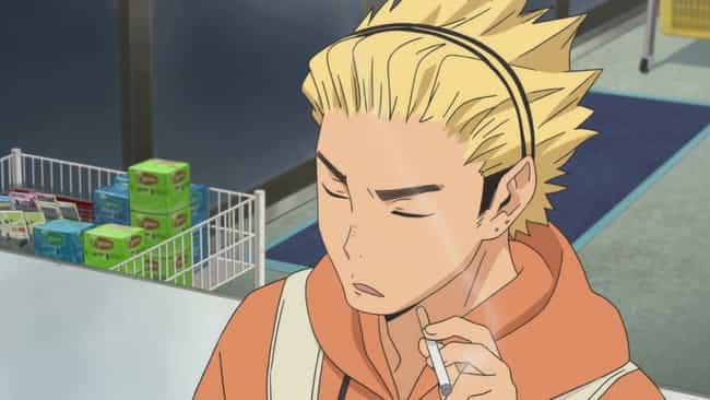 Keishin Ukai - Haikyuu!! is listed (or ranked) 7 on the list 13 Characters Who Are The 'Kakashi Hatake' of Their Anime