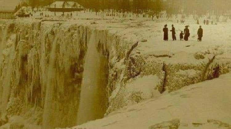 Niagara FallsFrozen Solid, 1848