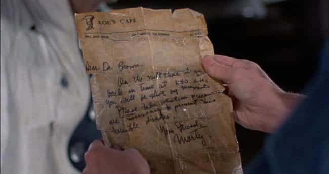 Marty's Actions Change Doc Bro... is listed (or ranked) 3 on the list 'Back to the Future' Fan Theories