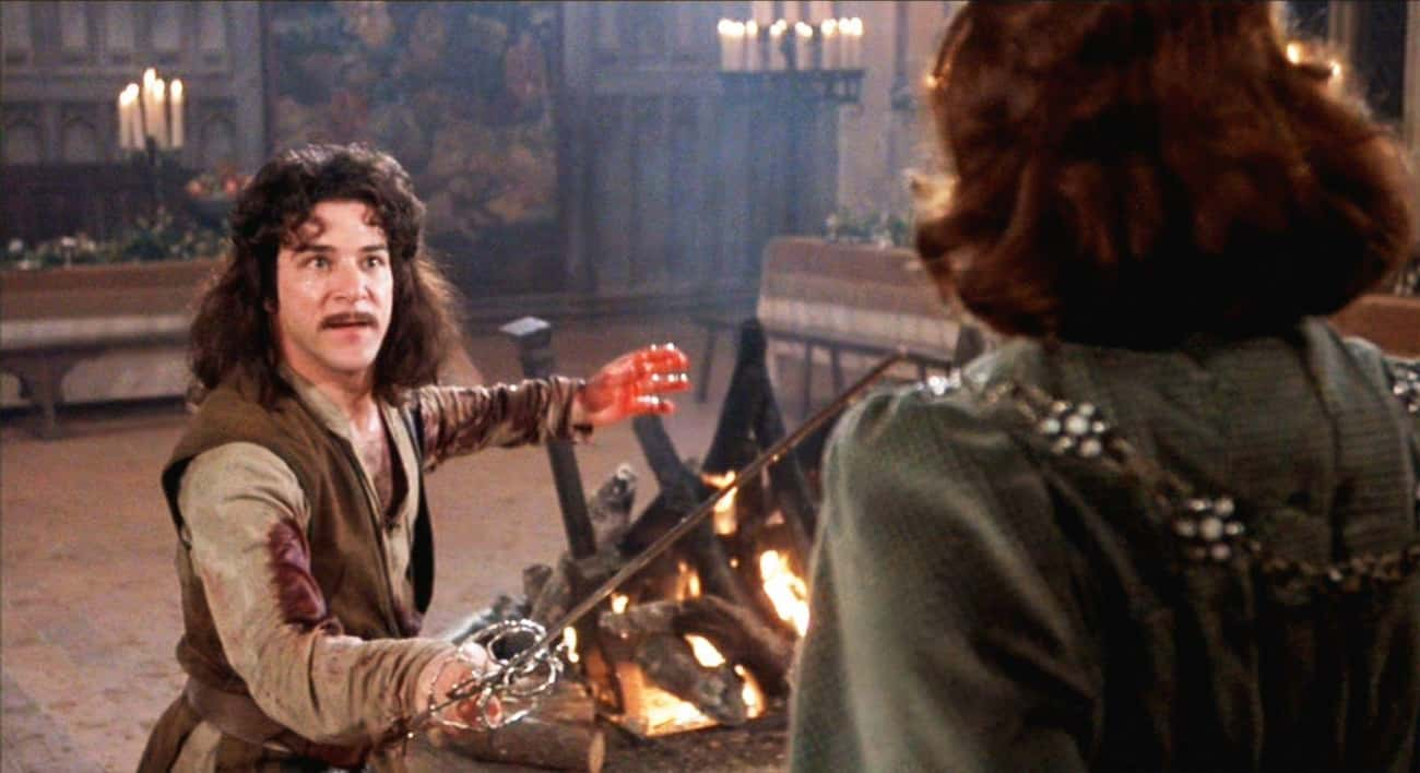 Inigo Prompts The Six-Fingered is listed (or ranked) 2 on the list Inconceivable Yet Believable 'Princess Bride' Fan Theories