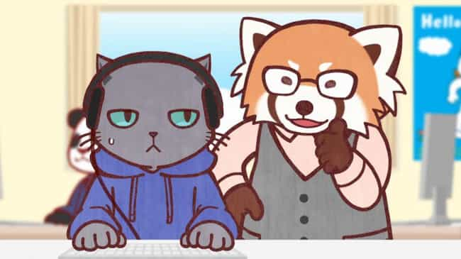 Working Buddies! is listed (or ranked) 4 on the list The 13 Best Anime Like Aggretsuko